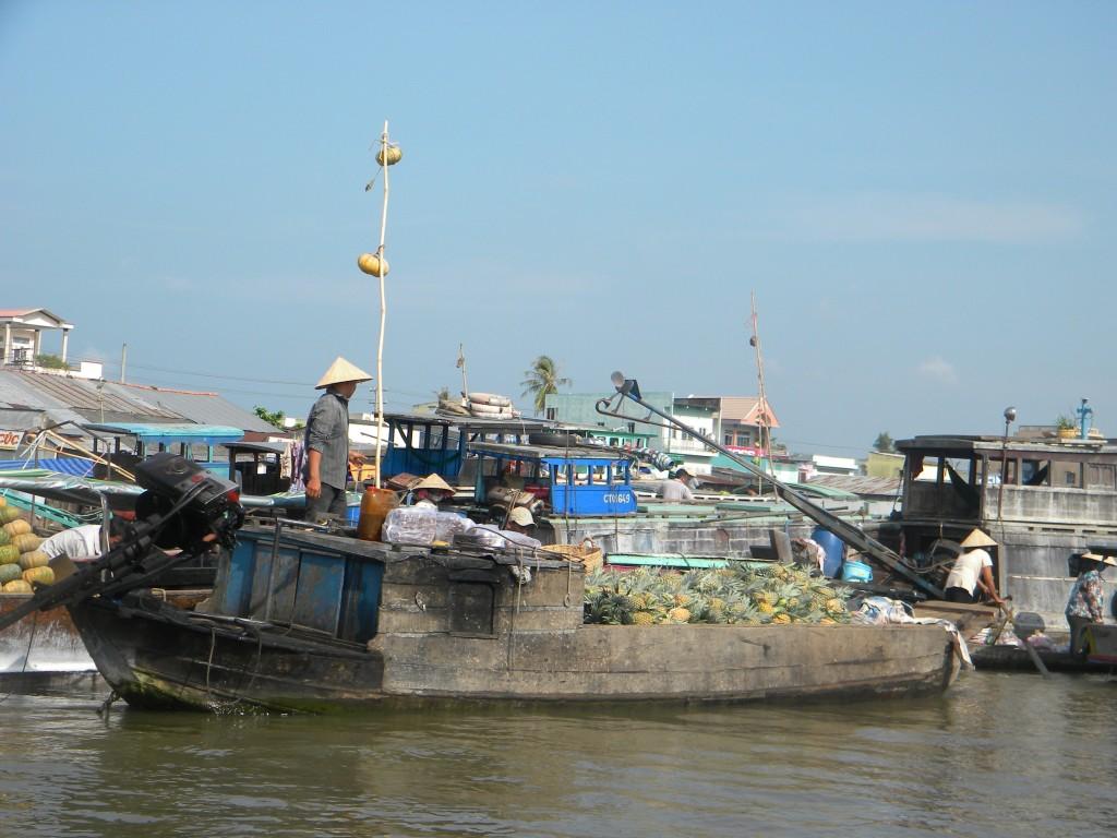 marchés flottants, Vietnam