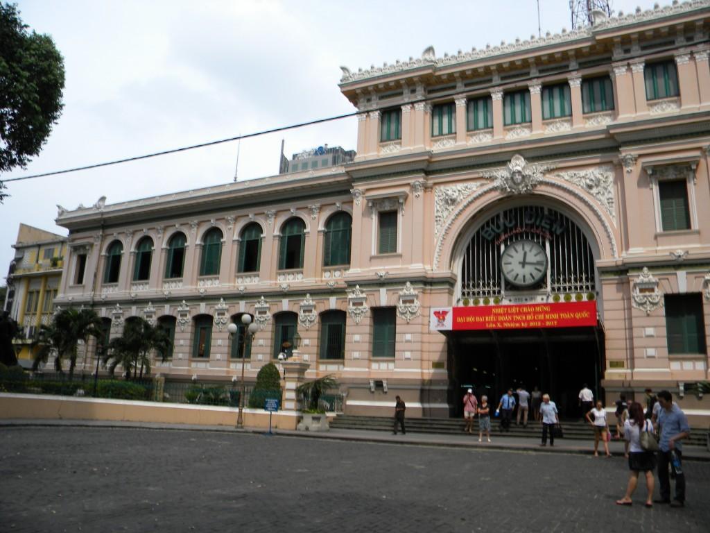poste, Hô Chi Minh-Ville, Saigon, Vietnam