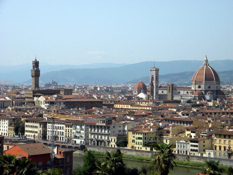 Fiesole, Toscane, Italie