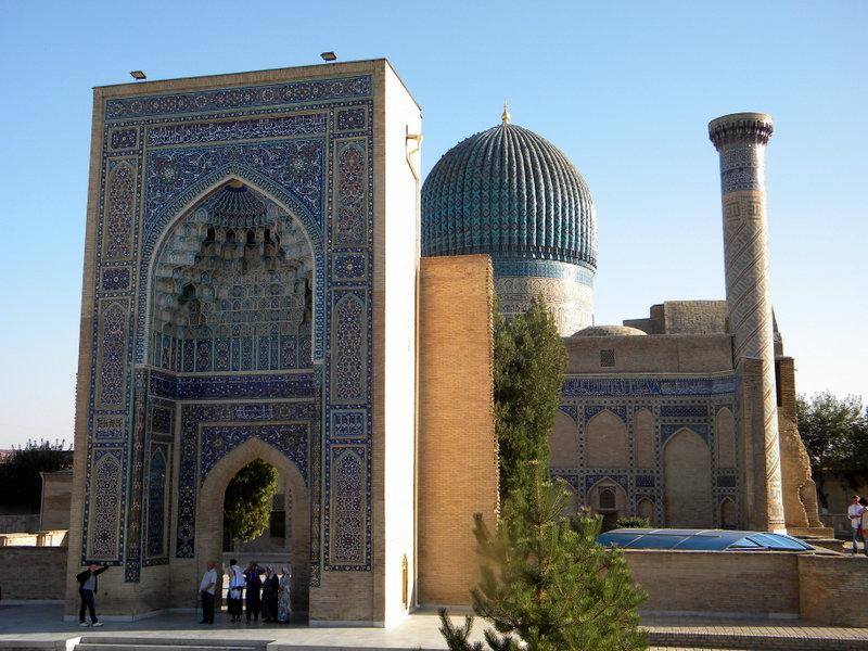 DSCN6853-Le Gour Emir, qui abrite la dépouille de Timur.