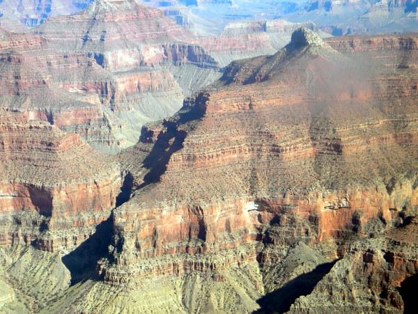 Grand Canyon, vu d'hélicoptère