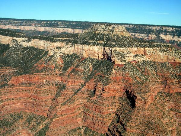 Grand Canyon, vu d'hélicoptère 2