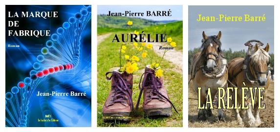 livres de jean pierre barré, auteur littéraire