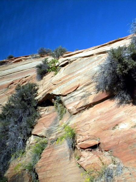 Ces roches semblent peintes