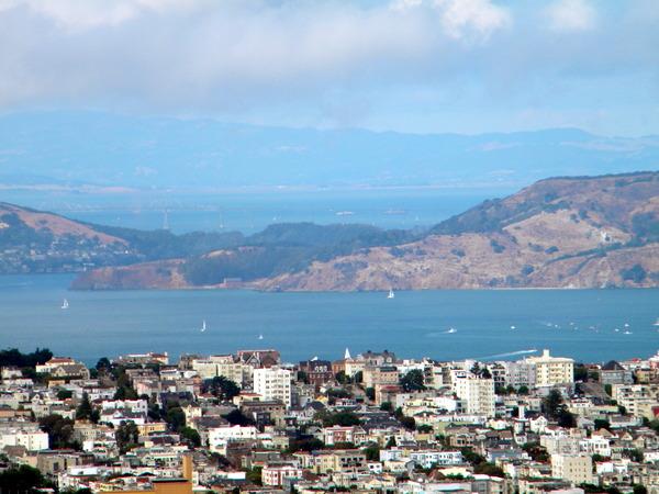 La baie de San Francisco