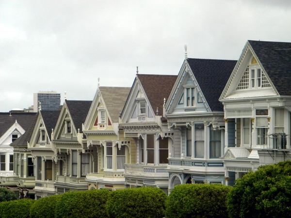 Les célèbres maisons victoriennes