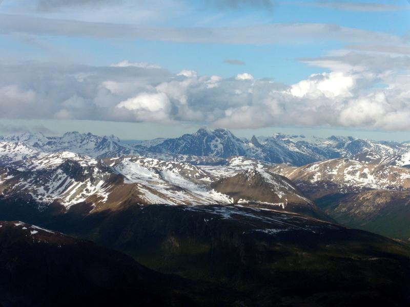 Au-dessus des Andes