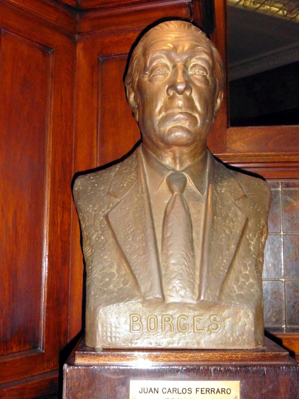 Buste de J. L. Borges