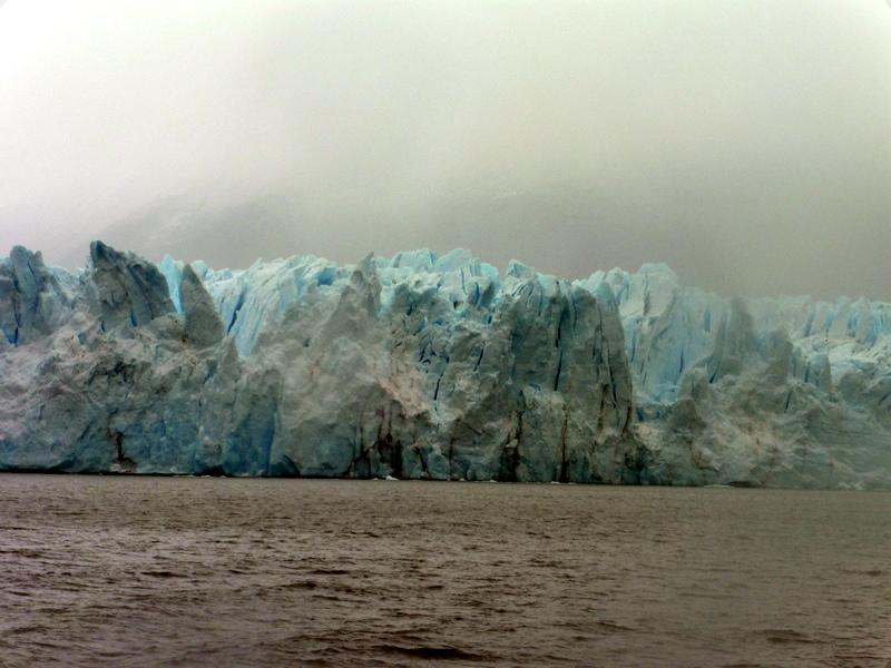 Le Perito Moreno, vu du bateau