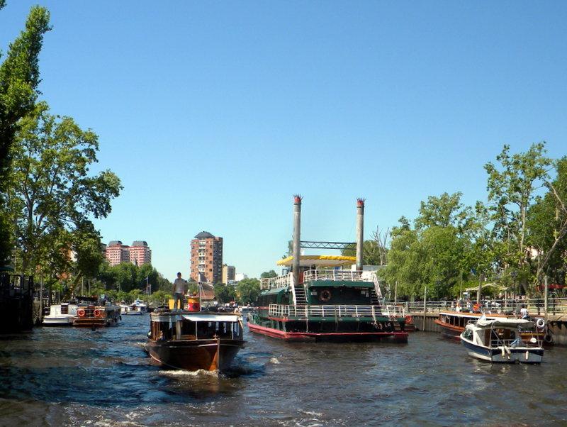 Sur le rio