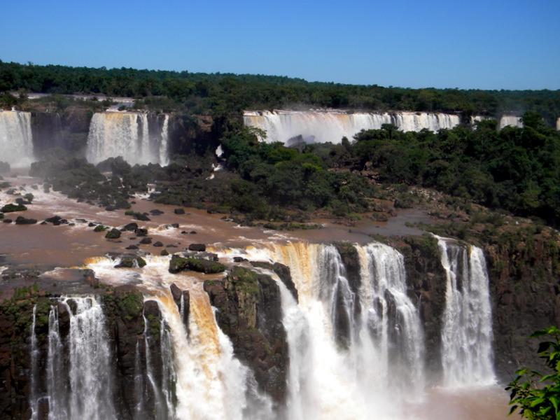Les chutes vues du Brésil-3