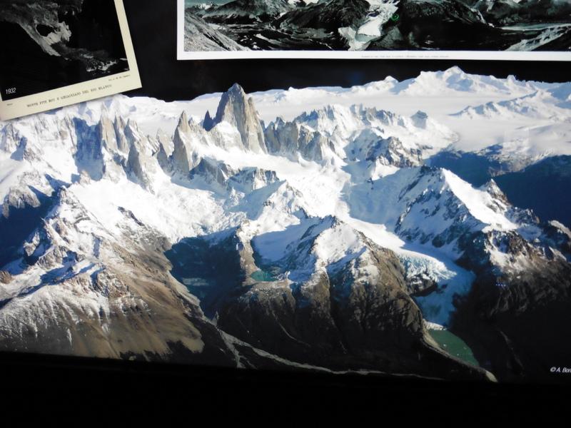 Maquette du parc des glaciers