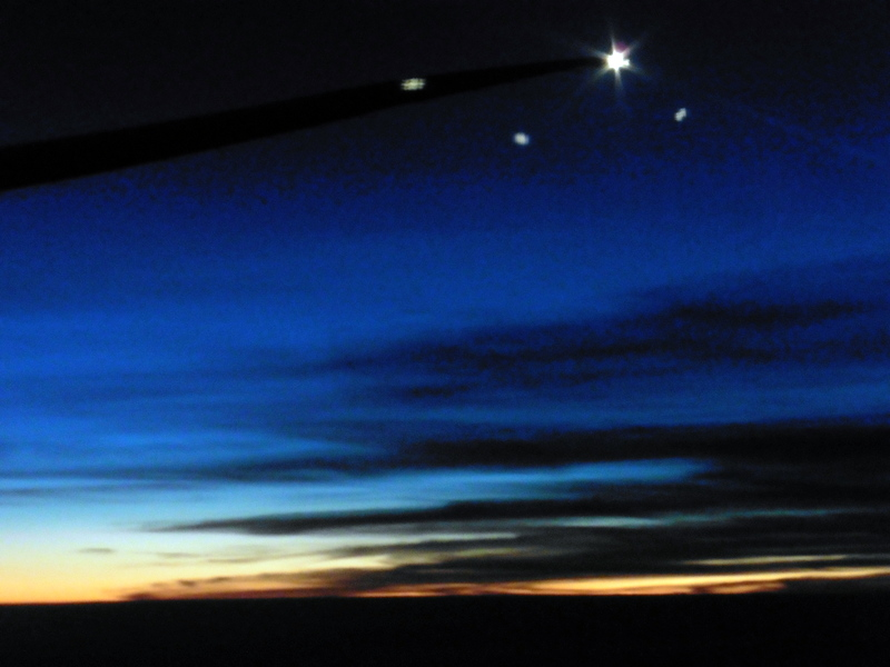 Étoiles dans le ciel de l'hémisphère sud