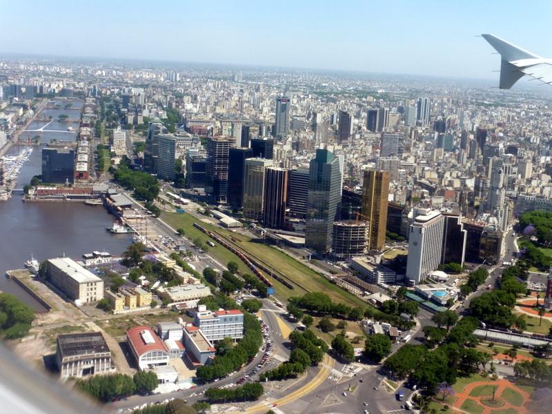 Arrivée à Buenos Aires