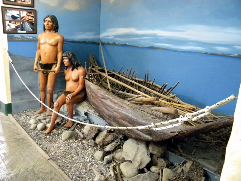 Couple de pêcheurs yamanas