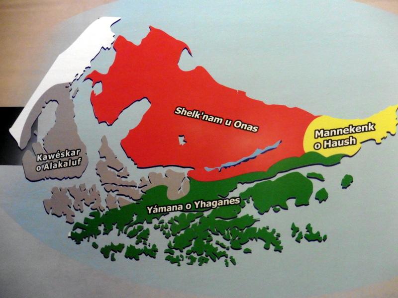 Carte du peuplement amérindien