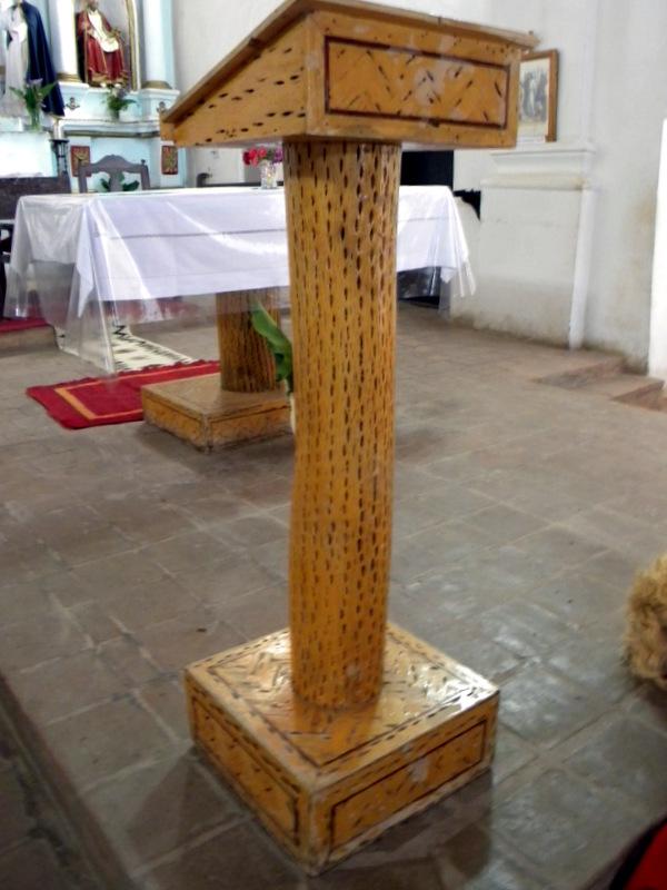 Lutrin de l'église de Cachi