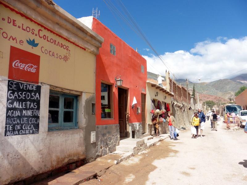 Purmamarca, La rue principale