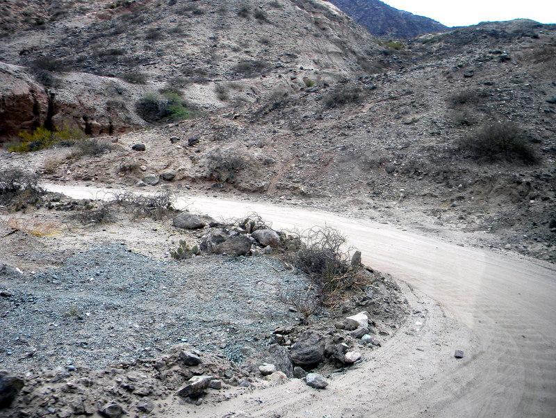 La routa 40, entre Payogasta et Cachi