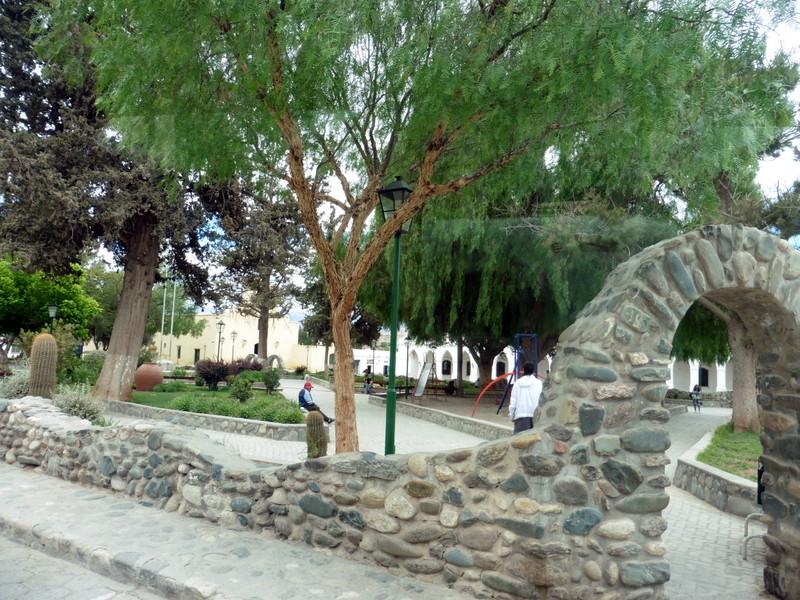 La place centrale de Cachi