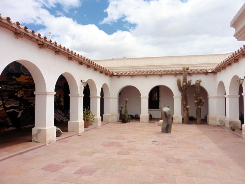 Musée Pia Pablo Diaz-Le patio