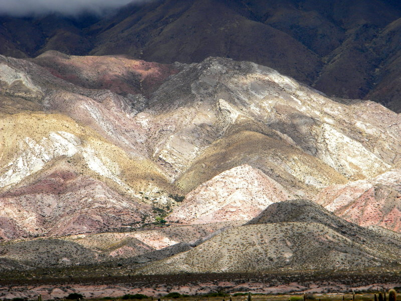 Quebrada de Humahuaca, le soir
