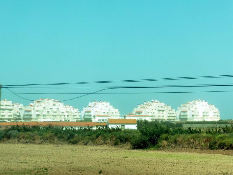Immeubles du bord de plage