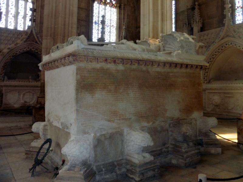 Le tombeau de Jean I° et de sa femme