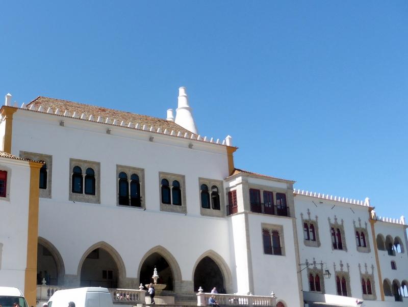La façade du palais royal
