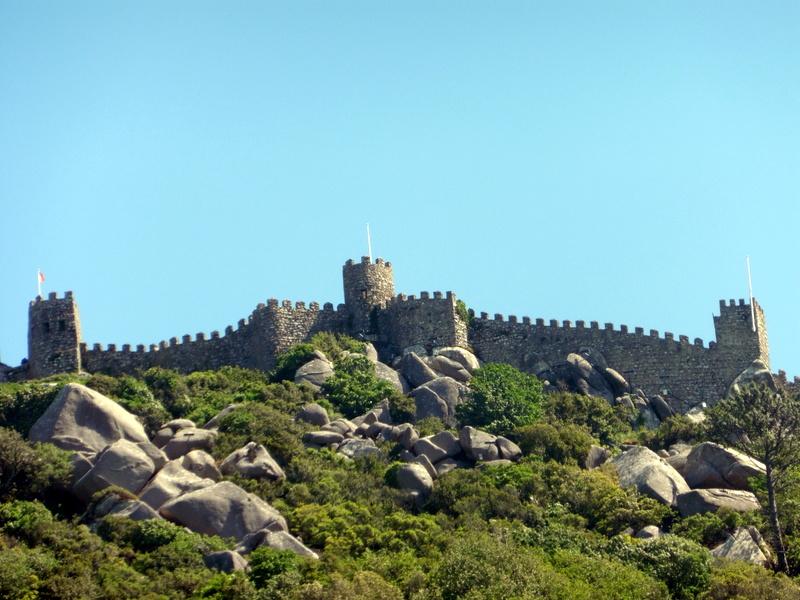 Les remparts du château des Maures