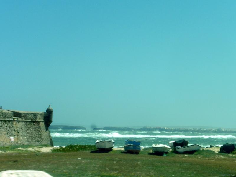 Le port de pêche près du fort