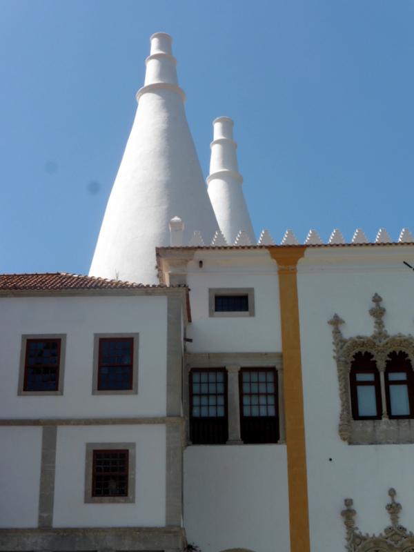 Les cheminées du palais royal