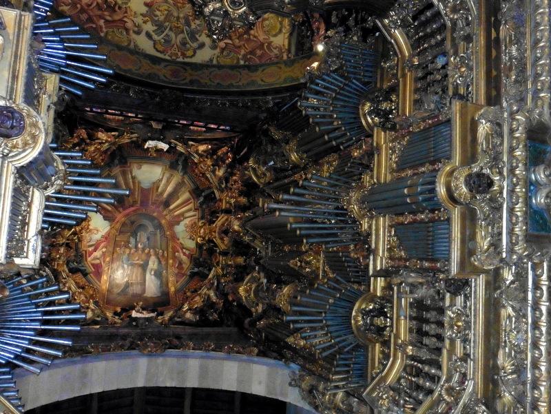 Les deux buffets d'orgue
