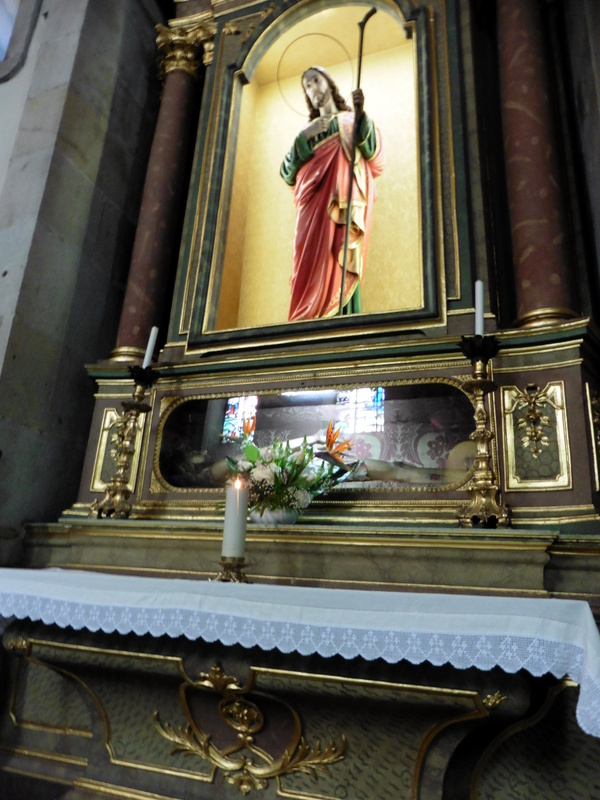 Les reliques de Saint Judas Tadeu