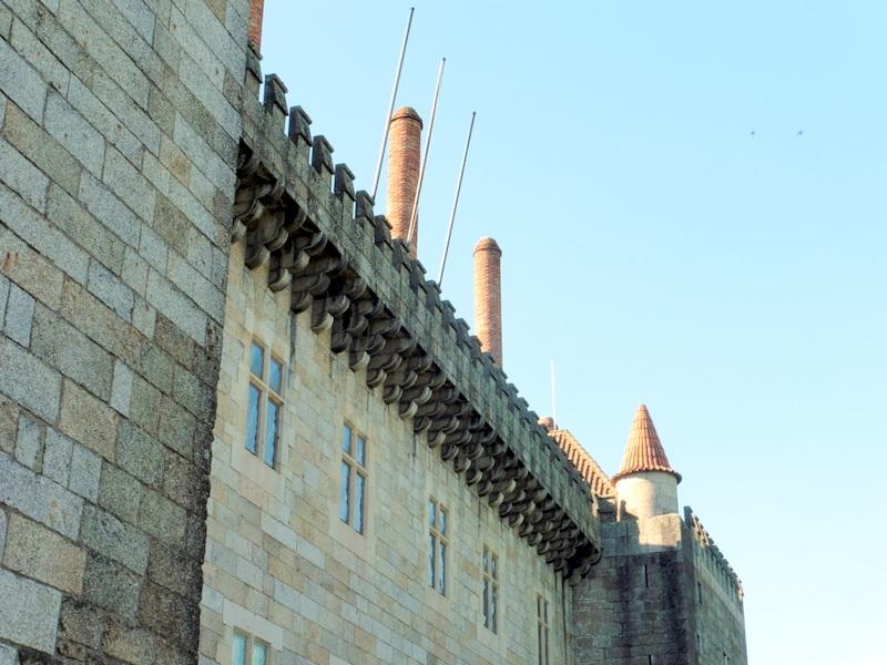 Les machicoulis du palais