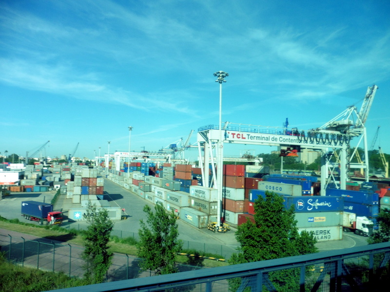 Le terminal portuaire de Leixoes