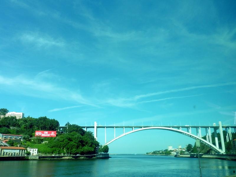 Le pont de l'Arrabida