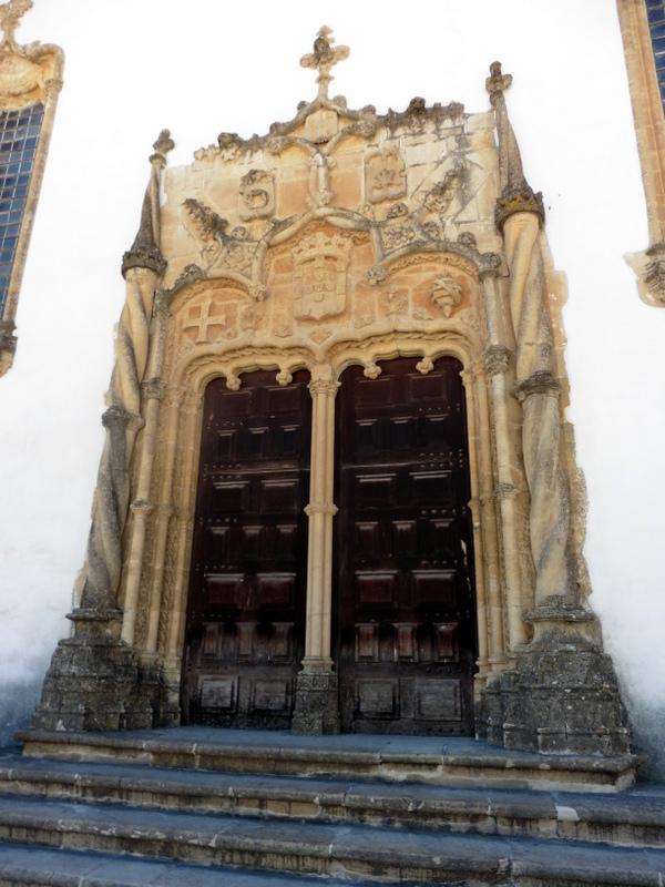 La porte de la chapelle Saint Michel