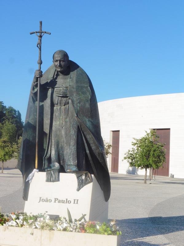 Statue de Jean-Paul II