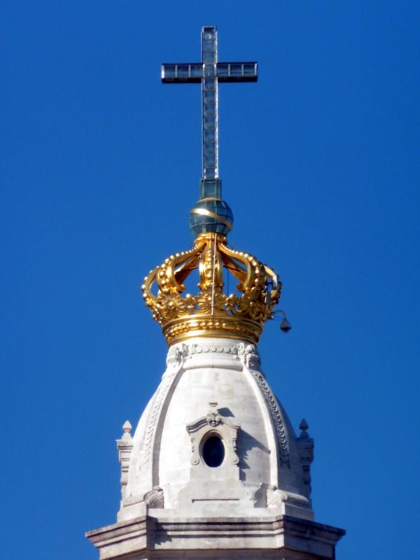 Le clocher de la basilique
