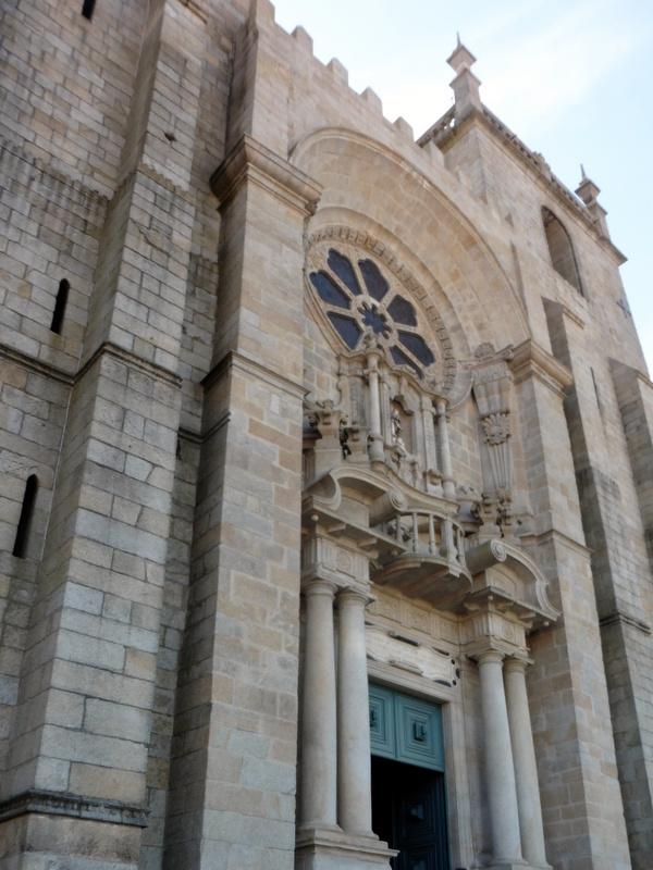 La Sé : le portail et sa rosace