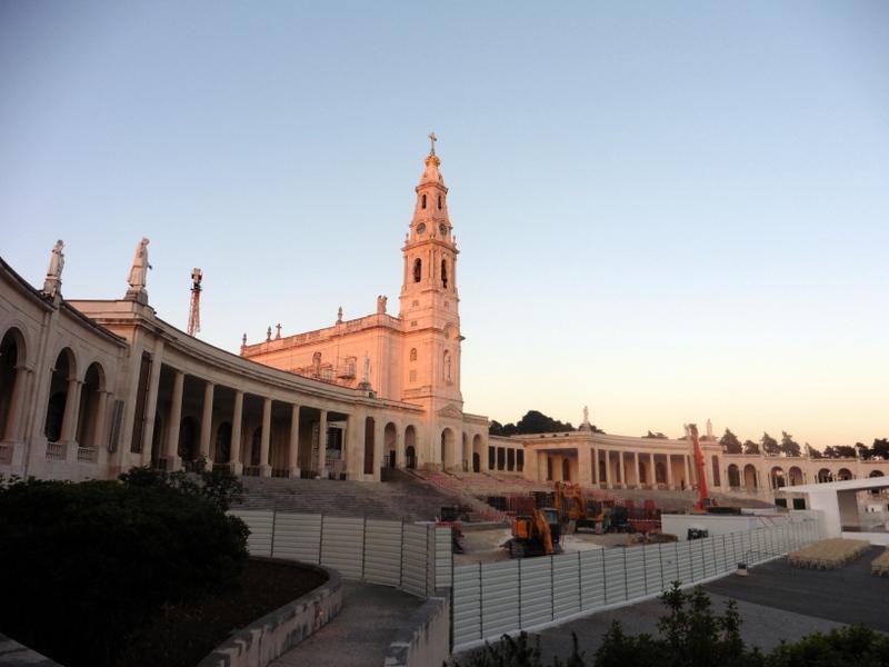 Le sanctuaire, le soir