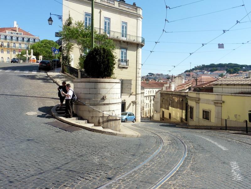 Sur le parcours du tramway