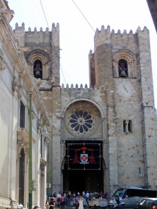 La Sé, cathédrale de Lisbonne
