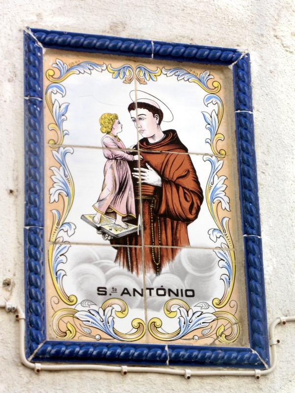 Azulejo,de Saint Antoine
