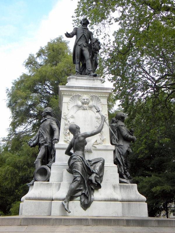 Statue de Rochambeau