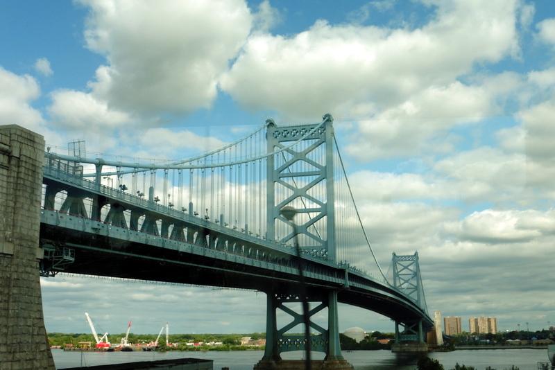 Le pont Benjamin Franklin