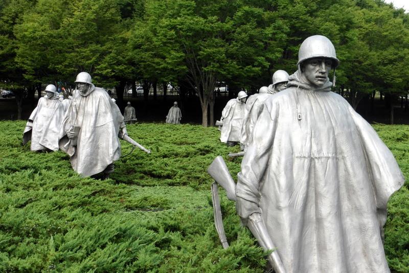 Monument de la guerre de Corée