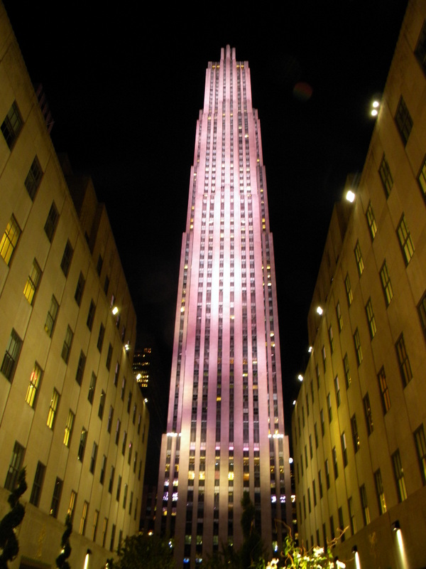 La tour Rockefeller