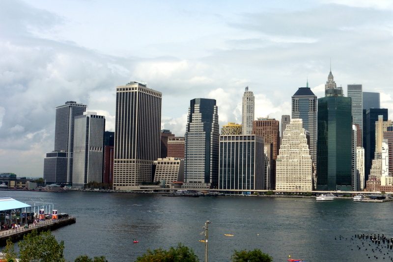 La skyline à Manhattan